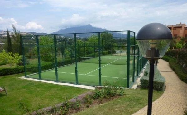 padel tennis gazules del sol benahavis