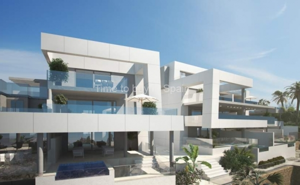 New development La Morelia de Marbella, Apartments,Penthouses