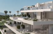TTBND0017, Nueva promoción de apartamentos y áticos en la Nueva Milla de Oro con vistas al mar