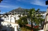 TTB0004, Atico a la venta en Nueva Andalucia, Los Naranjos de Marbella con solarium y vistas a la montaña
